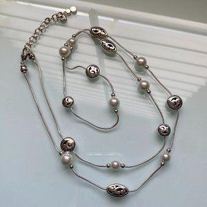 Brighton | Contempo Pearl Long Necklace